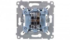 Simon 54 Przycisk pojedynczy zwierny mechanizm 10AX 250V SP1M