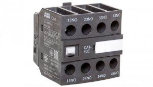 Styk pomocniczy 4Z 0R montaż czołowy CA4-40E 1SBN010140R1040