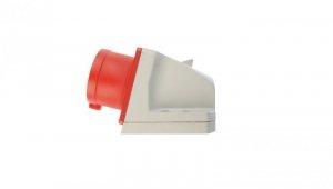 Wtyczka odbiornikowa 16A 5P 400V czerwona IP44 515-6