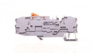 Złączka szynowa rozłączalna 2-przewodowa 6mm2 szara 2006-1671 TOPJOBS