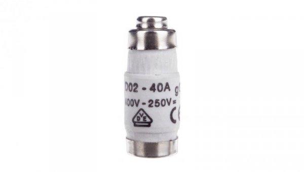 Wkładka bezpiecznikowa BiWtz 40A D02 gG 400V LE1840
