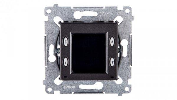 Simon 54 Termostat 8A z wewnętrznym czujnikiem temperatury antracyt D75817.01/48