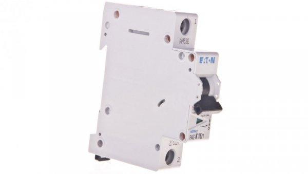 Wyłącznik nadprądowy 1P K 16A 15kA AC FAZ K16/1 278599