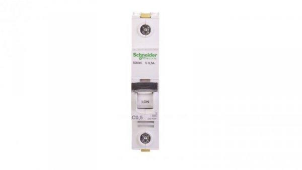 Wyłącznik nadprądowy 1P C 0,5A 6kA AC iC60N-C0,5 A9F04170