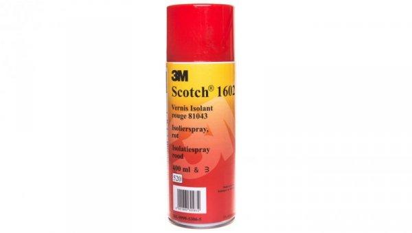 Aerozol izolacyjny SCOTCH 1602 czerwony 400ml DE999953065/7000063481