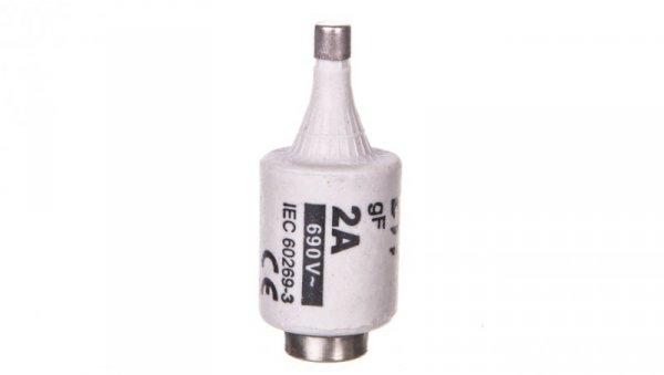 Wkładka bezpiecznikowa 2A DII gF / BiWts 690V AC E27 002312120