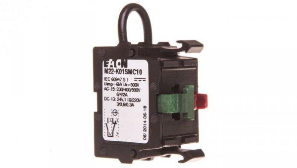 Styk pomocniczy 1Z 1R montaż czołowy M22-K01SMC10 121472
