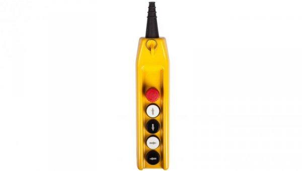 Kaseta suwnicowa góra-dół/lewo-prawo 1-biegowa + przycisk bezpieczeństwa PKS-6W01