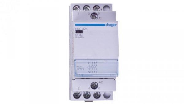 Stycznik modułowy 25A 3Z 0R 230V AC ESC325