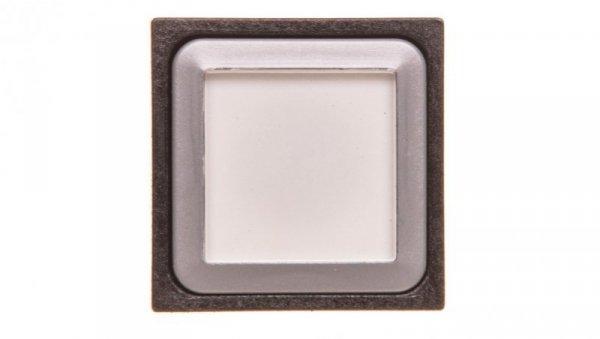 Napęd przycisku 25x25mm biały bez samopowrotu z podświetleniem Q25LTR-WS 087232