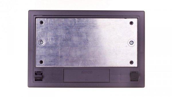 Simon Connect Puszka SF podłogowa poczwórna 8x K45 + SM402/9 szara SF410/1