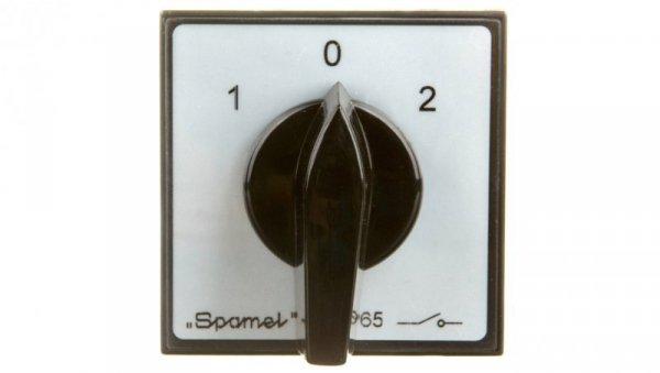 Łącznik krzywkowy 1-0-2 4P 40A do wbudowania SK40-4.8396P03
