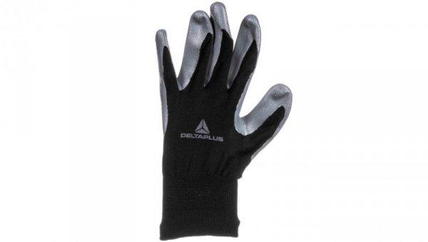 Rękawice dziane z poliestru (100%), dłoń powlekana Nitrylem, ścieg 13 rozmiar 10 VE712GR10
