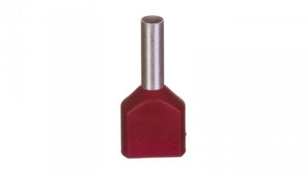 Końcówka tulejkowa izolowana HI 2X1,5/8 E08KH-02020101301 /500szt./