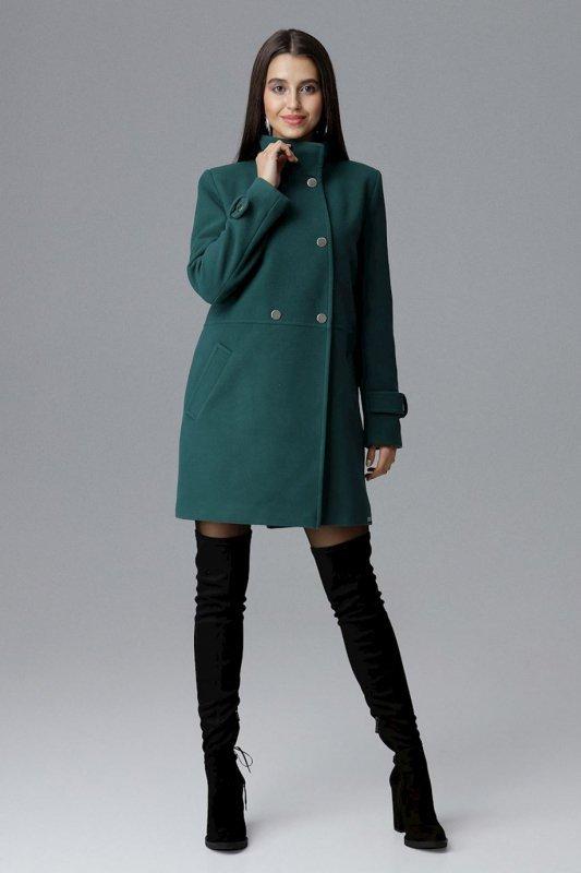 Płaszcz Damski Model M623 Green - Figl