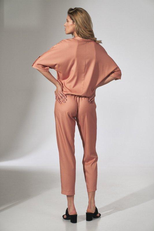Spodnie Damskie Model M743 Orange - Figl