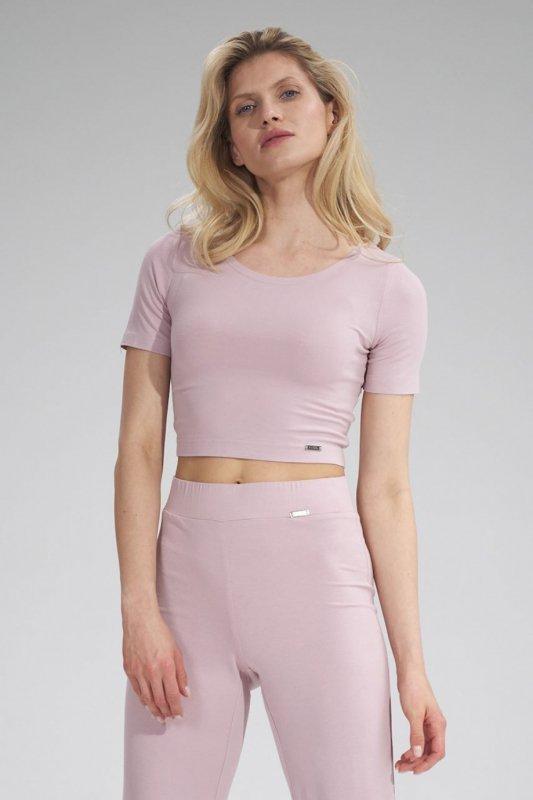 Bluzka Model M748 Pink - Figl