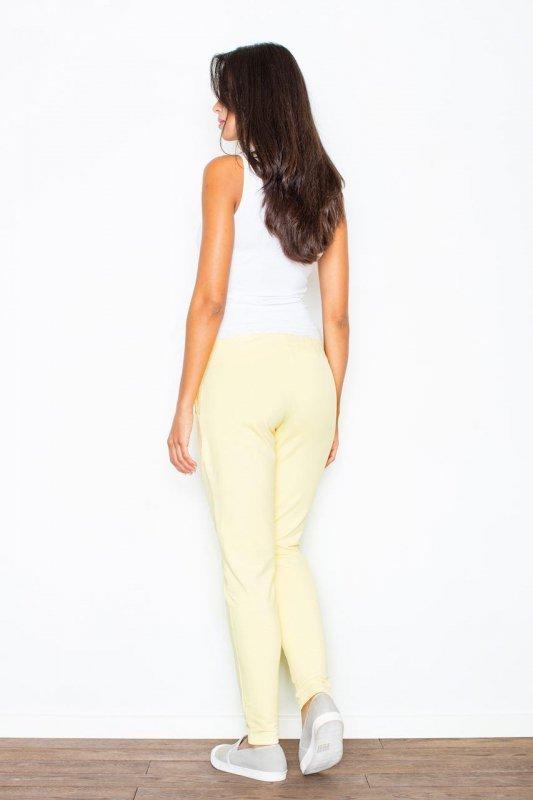 Spodnie Damskie Model 305 Yellow - Figl