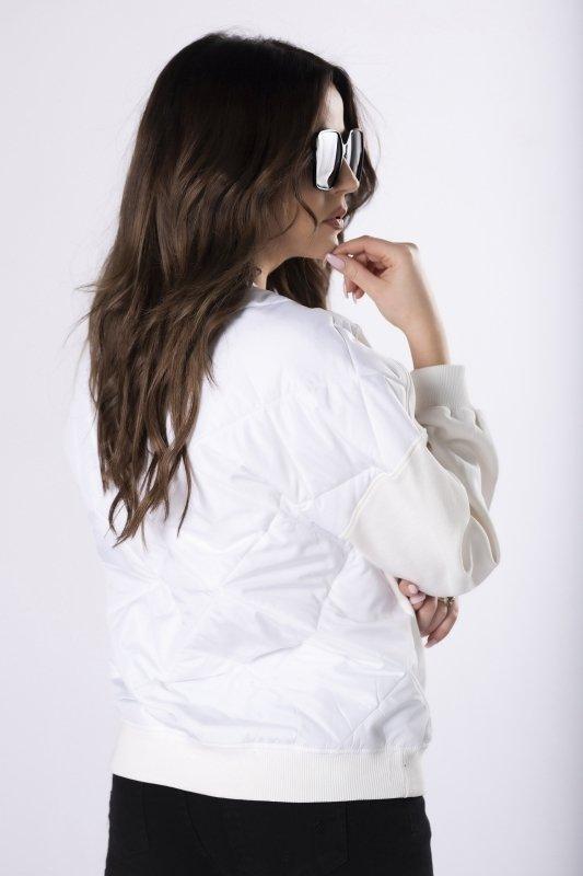 bluza z pikowanymi plecami