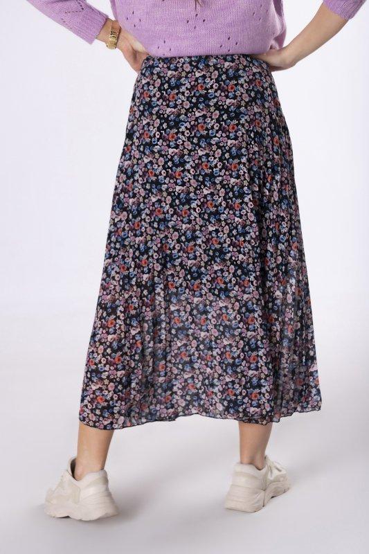 plisowana spódnica maxi