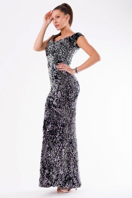 Sukienka Model 18146 Silver - YourNewStyle