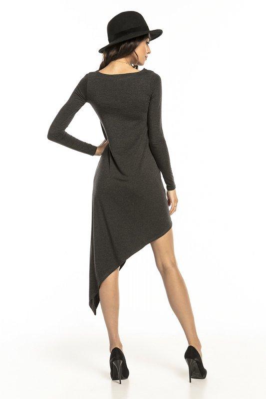 Sukienka Model T299/1 Dark Grey - Tessita