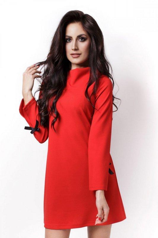 Sukienka Model 199 Natalie Red - IVON