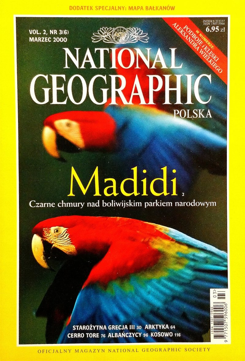 National Geographic Polska nr 3/2000 SPK