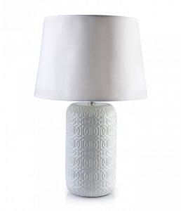 LENA WHITE Lampa 15x15xh53cm