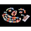 Drewniane Koraliki Do Nawlekania 96 elementów - CLASSIC WORLD