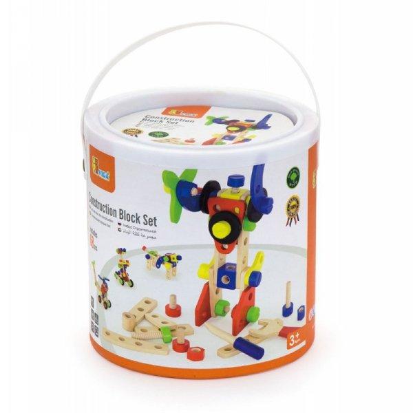 Zestaw klocków konstrukcyjnych 68 elementów - Viga Toys