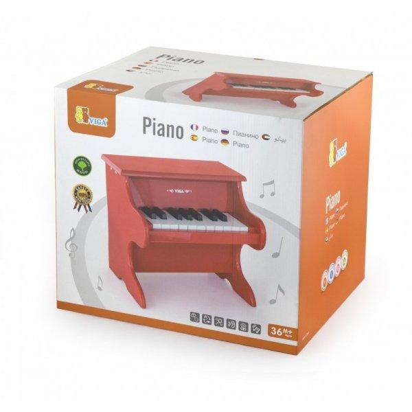 Moje pierwsze pianinko czerwone - Viga Toys