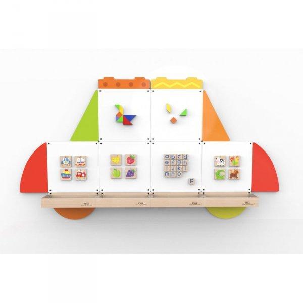 Tablica magnetyczna - Samochód - VIGA Toys