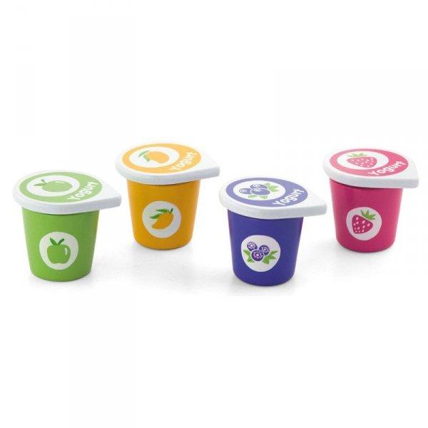 Drewniane Jogurty w pojemniczkach - Viga Toys