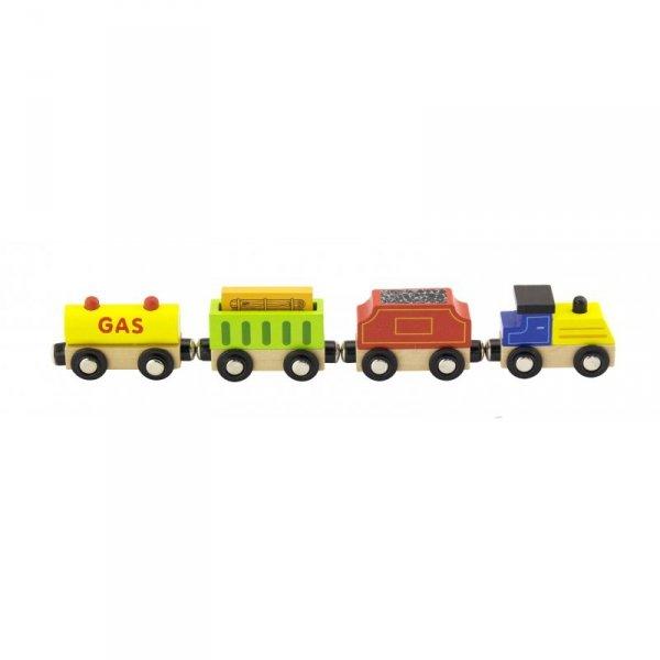 Zestaw akcesoriów do kolejki - pociąg - Viga Toys