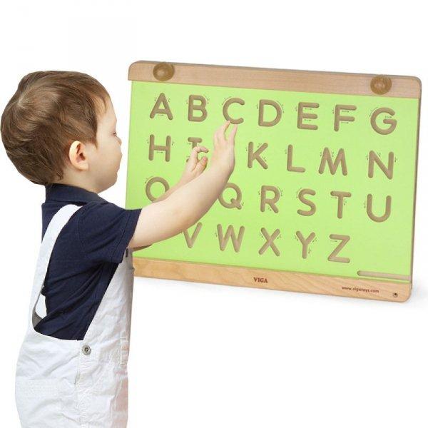 Drewniana Tablica Do Nauki Pisania i Rysowania - Viga Toys