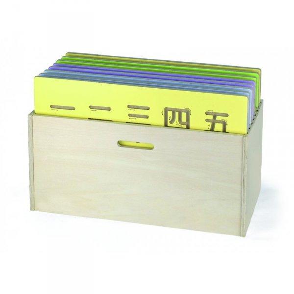 Drewniane Pudełko Na Tablice Do Pisania - Viga Toys