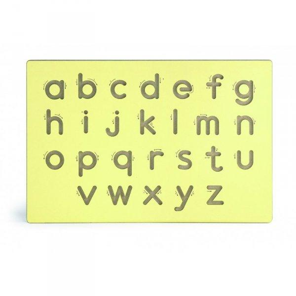 Nauka Pisania Małe Litery Szablon Do Tablicy - Viga Toys