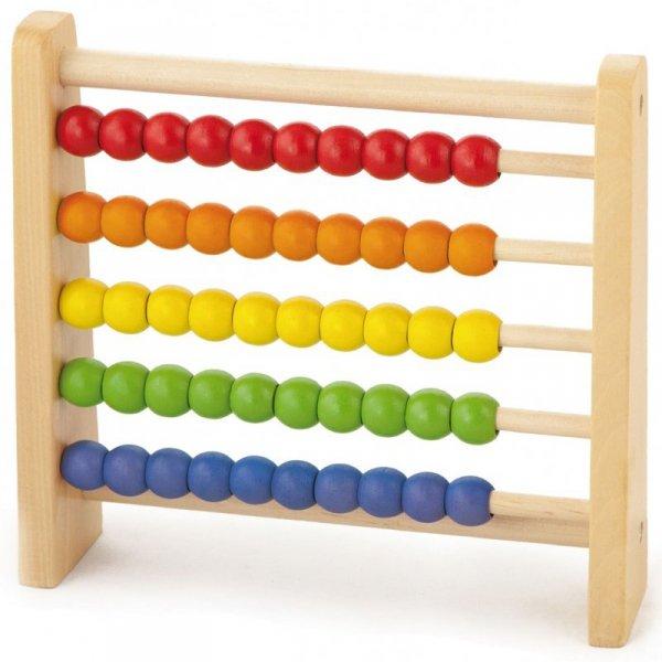 Drewniane Liczydło Edukacyjne - Kolorowe - Viga Toys
