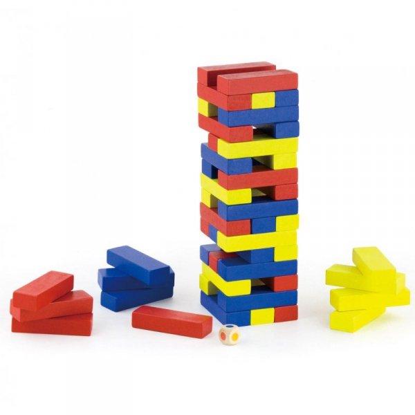 Drewniana Gra Jenga - Viga Toys
