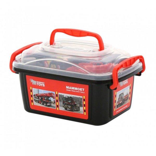 MAMMOET Zestaw narzędzi w walizce + auto 37 elementów - Wader QT