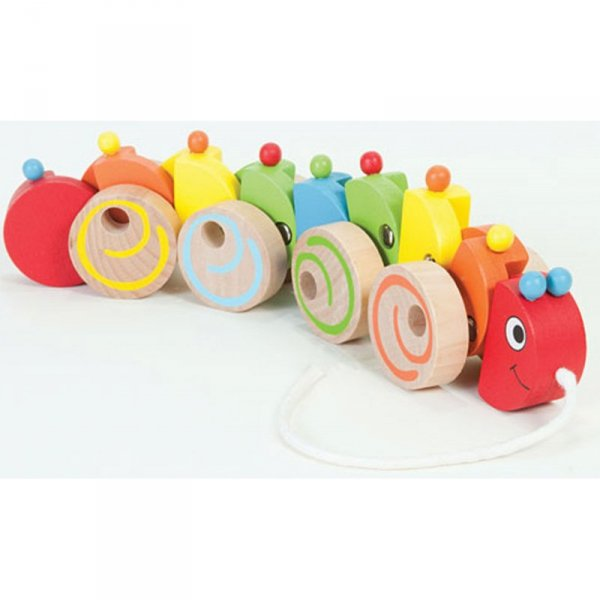 Zestaw do ciągnięcia - stonoga - Viga Toys