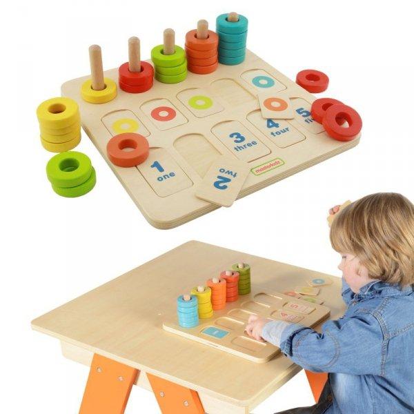 Nauka Kolorów I Liczenia Edukacyjna Tabliczka - Masterkidz