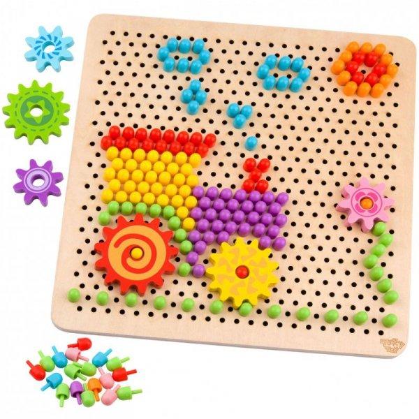 Mozaika Układanka z Pinezkami Wpinaczka 88 elementów - TOOKY TOY