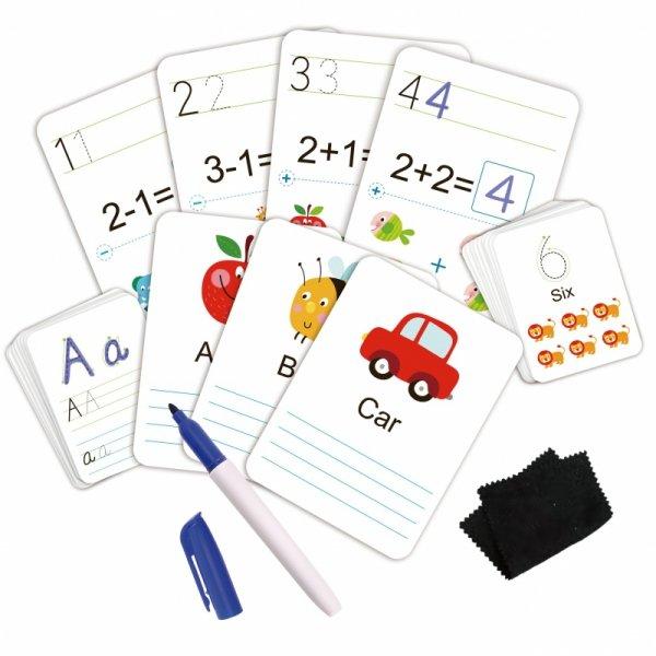 Karty Edukacyjne Fiszki do nauki pisania - TOOKY TOY