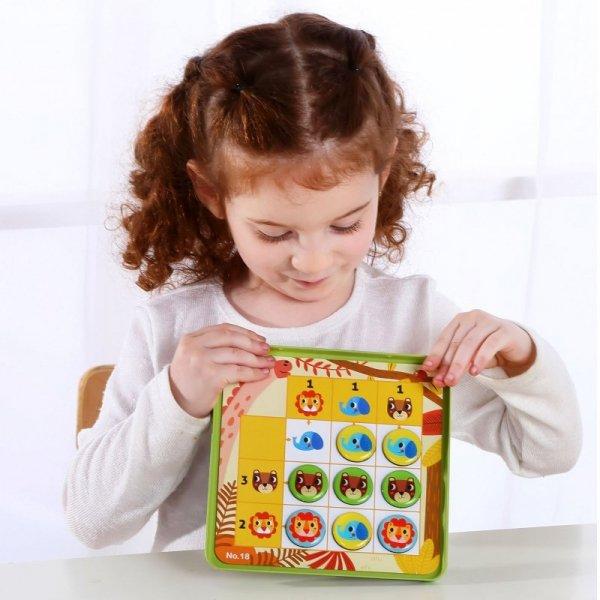 Gra Sudoku Dla Dzieci - Wersja Las - TOOKY TOY