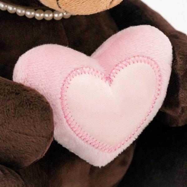 Przytulanka Pani Milk z sercem 20cm