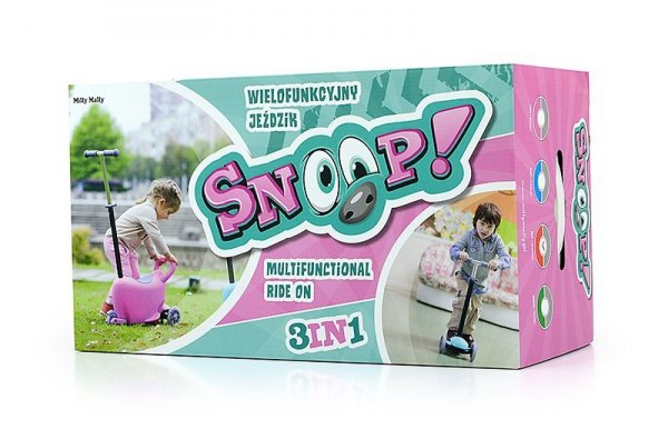 Jeździk SNOOP 3w1 green #B1