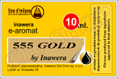 E- AROMAT 555 GOLG BY INAWERA 10 ML