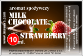 Aromat Czekolada mleczna - truskawka 10 ML